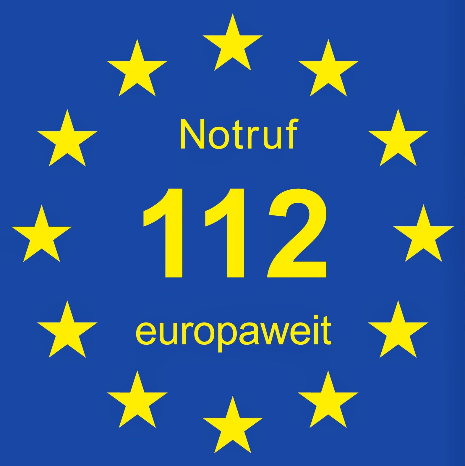 11.2. : Europäischer Tag des Notrufs 112