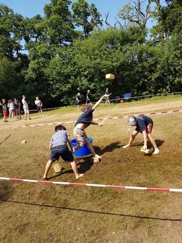 Zeltlager Tag 3 – Es lebe der Sport