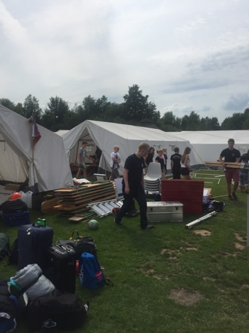 Zeltlager Tag 1 – Die Anreise