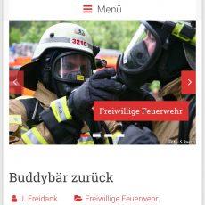 Homepage erstrahlt in neuem Glanz