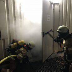 Einsatzübung Brandbekämpfung