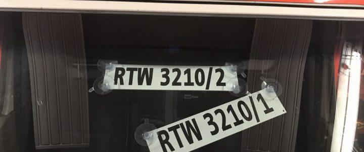 Aus RTW 3210/2 wird (wieder) RTW 3210/1