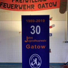 Festakt anlässlich des 30-jährigen Bestehens der Jugendfeuerwehr Gatow